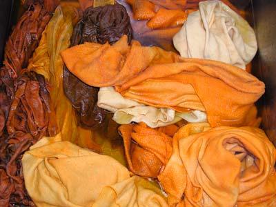 orange rinse bath